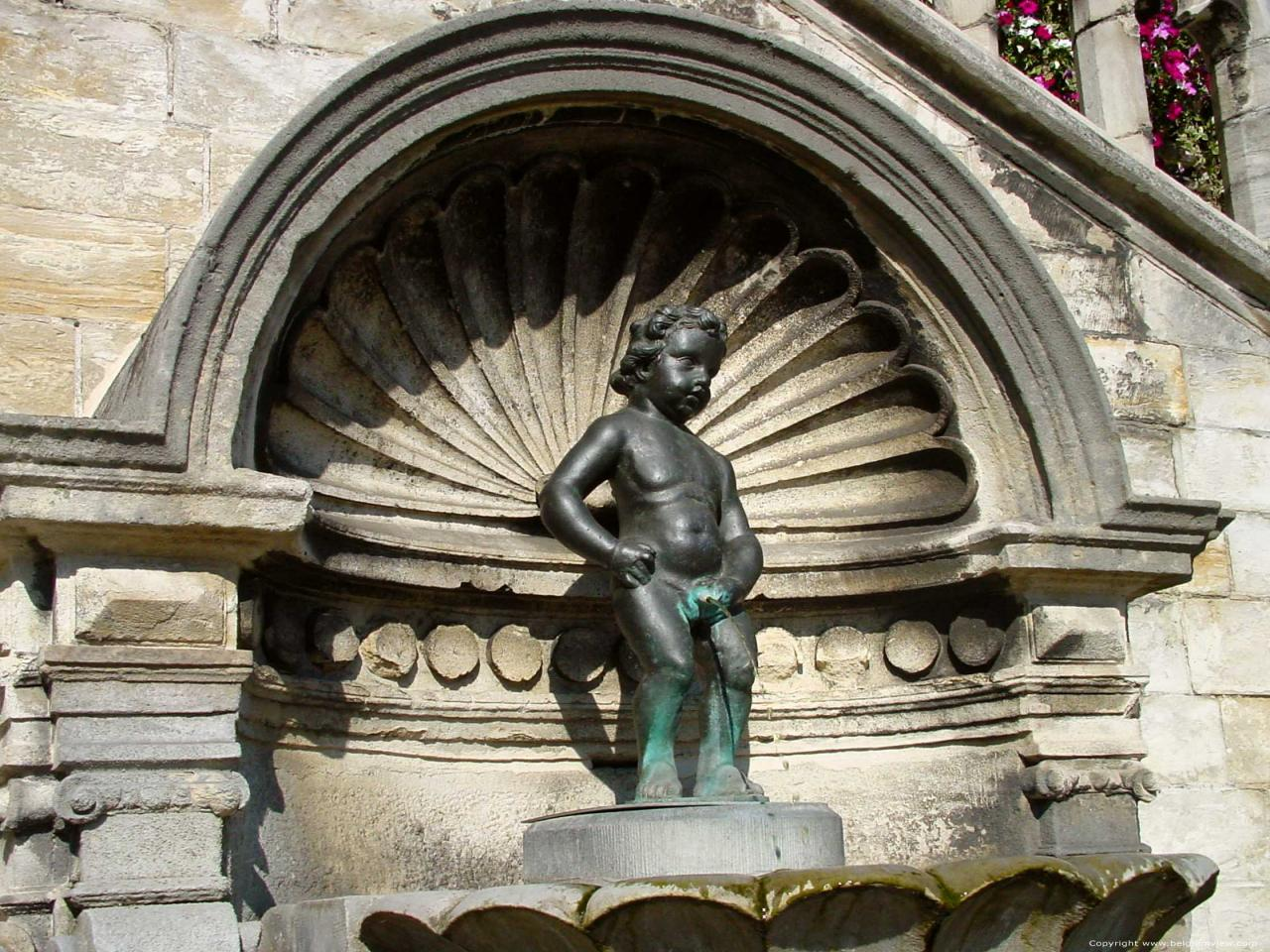 Image result for Manneken Pis