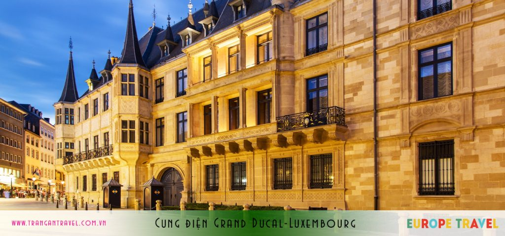 Cung điện Grand Ducal Luxembourg